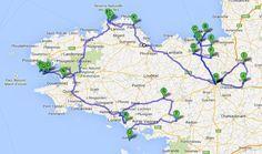 BRETAÑA - Diarios, Noticias y Tips - Itinerarios de más de 7 días (tip 3 de 3) (Información General - Francia) - Tips de Viajes - LosViajeros