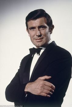 Not the first Australian-born Bond: If Hugh Jackman ever did take over the role, he wouldn't be the first Australian-born actor to play Bond, with George Lazenby taking on the role in the 1969 film 'On Her Majesty's Secret Service'. James Bond Actors, James Bond Movies, Bond Girls, Service Secret, George Lazenby, Bond Series, James Bond Style, Best Bond, Australian Actors