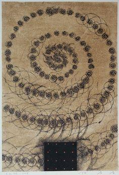 takahikohayashi:    D-7.Oct.2007painting, collage on paper林孝彦 HAYASHI Takahiko 2007