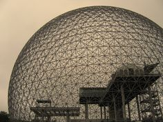 Buckminster Fuller creator of the geodesic dome and many other crazy inventions. Forefather of the prefab