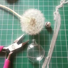 We have been for a walk in the Woods today, and handpicked lots of Wishes 😊 Wish necklaces are so delicate to make and take alot of patience, but I love the end result x   #makeawish #dandelionseed #dandelionnecklace #crystals #wish #handmadeinyorkshire