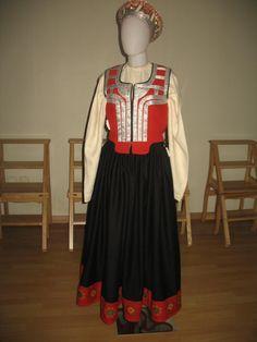Bārta folk costume