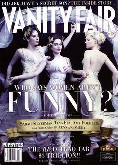 Queens of Comedy - Sarah Silverman - Tina Fey - Amy Poehler - Vanity Fair