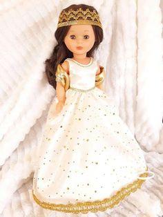 Girls Dresses, Flower Girl Dresses, American Girl, Doll Clothes, Medieval, Disney Princess, Costumes, Childhood, Memories