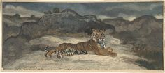 Antoine-Louis Barye (French, 1796–1875). Royal Tiger, 1810–75. The Metropolitan Museum of Art, New York. Bequest of Walter C. Baker, 1971 (1972.118.196) #cats