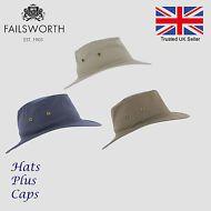 fefef196 Failsworth Cotton Traveller Tilley Style Sun Safari Packable Hat UV  Protection Safari