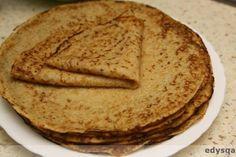 Naleśniki z mąką kukurydzianą - Zakręcony wege obiad