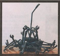Chatarra, obra hecha en 1975 - Feliza Bursztyn