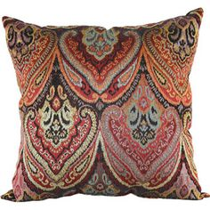 Living Room: For the couch. Better Homes and Gardens Global Paisley Pillow