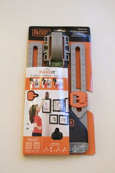 This little tool will make your life so much easier! A simple all in one tool to hang a picture level without multiple holes in the wall.