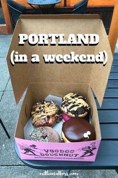 I'd love to go to Portland for a weekend! | Portland Itinerary | Portland Road Trip | Portland Grimm | Portland Voodoo Doughnuts | Portland Weekend Ideas