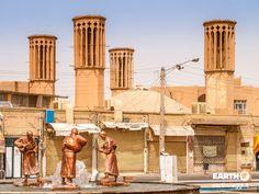 I Bad Ghir (torri del vento) di Yazd, #Iran
