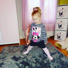 Tiffany a adopté son nouveau #Tshirt #Minnie ! 'Mère pas parfaite et alors ?' l'a shoppé pour 5€50 chez #babou