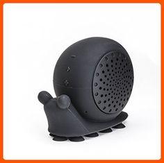 "On Hand Creature Speaker, ""Biggie Snails"" Black Snail Shower - Lovley creatures (*Amazon Partner-Link)"