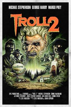 Troll 2 poster, t-shirt, mouse pad 1990 Movies, Hd Movies, Movies Online, Comedy Movies, Movie Film, Horror Films, Horror Art, Thriller Film, Creative Artwork