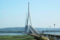 Michel Virlogeux – Pont de Normandie (construction 1988-1995) longueur totale 2141,25 mètres