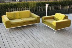 Variatio sohva ja nojatuoli