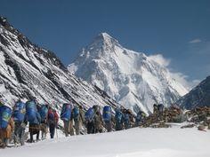 K2 Base Camp Trek & Gondogoro La Pass (10 June 2013) Snow Lake, K2, Amazing Photography, Trek, Mount Everest, Mountains, June, Awesome, Bergen
