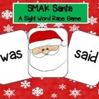 Twist to the ol' slap jack game! Smak Santa! Includes first 100 Fry words as well as other characters if you don't celebrate Christmas at school you can smak the snowman, as well as characters for you to play the game through the seasons!