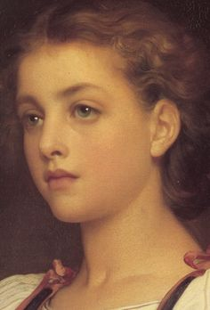 Biondina,1879  Frederic Leighton  What a beautiful painting!