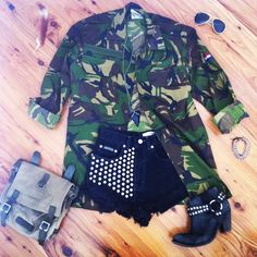 in love with military jackets