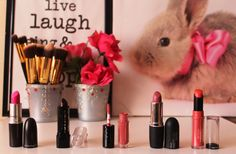 City Girl Vibe Lipsticks July-August #Lipstick #Pink #Blog #Beauty #Nude #Makeup