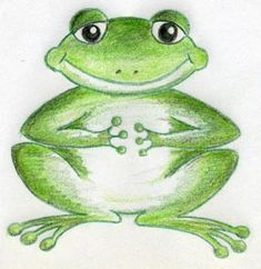How to draw - A Few Cartoon Frog Drawings You Are Going To Love