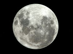 Paolo Nespoli - Supermoon as seen from International Space Station. 20 March 2011    Credits: ESA/NASA