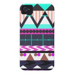Dreamy Aztec 1 iPhone 4 Case by OrganicSaturation