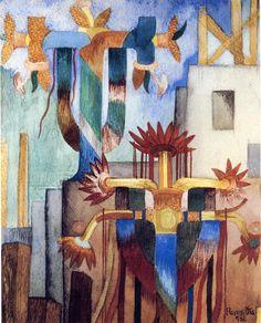 Fermín Revueltas (1903 - 1935) / La fiesta de la cruz de mayo. 1931