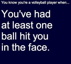Only one? HA! I get hit in the face basically everyday... Clumsy me
