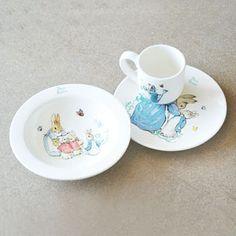 Beatrix Potter Peter Rabbit Three Piece Breakfast Nursery Set