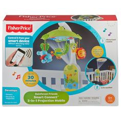 Soothing Full Color Light Show Quick Check You Can Control It All From Your Smart Device With The Fisher Price