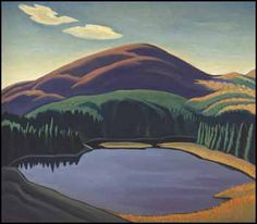 Lawren Stewart Harris, Above Lake Superior, double-sided oil on canvas circa 1926 Impressionist Landscape, Abstract Landscape, Landscape Paintings, Canadian Painters, Canadian Artists, Emily Carr Paintings, Group Of Seven Paintings, Tom Thomson Paintings, Rockwell Kent