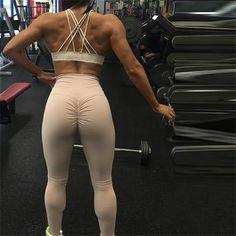 d9ef027685a2cd Women Leggings Pants Leggins Sports Pants Hip Up Fitness High Waist  Tracksuit Plus size Leggings Sport Trousers Sportwear