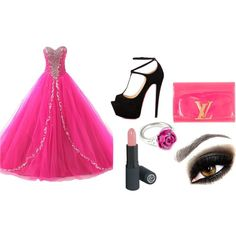 Prinsess Style by karoinesommerfugl11 on Polyvore featuring Talitha, Louis Vuitton, LeiVanKash and antonija2807