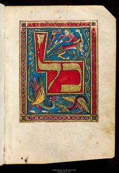 This exquisite manuscript, along with 60 other rare Hebraica mss. will be on view in New York's Jewish Museum: Crossing Borders: Medieval Manuscripts from the Bodleian Libraries, 9.14.12–2.3.13. http://www.thejewishmuseum.org/exhibitions/bodleian-medieval-manuscripts?utm_source=pressrelease_medium=email_campaign=July10    Tripartite Mahzor:  Kol nidrei; Ashkenaz, fourteenth century. via http://www.bodleian.ox.ac.uk/bodley/about/exhibitions/online/crossing-borders/public-prayer-books