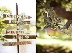 outdoor barn wedding photos | outdoor wedding sign How we lost our venue... and found our wedding ...