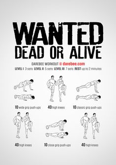 Wanted! Workout