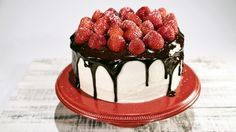 Neapolitan Layer Cake Recipe by Carla Hall, Clinton Kelly - The Chew