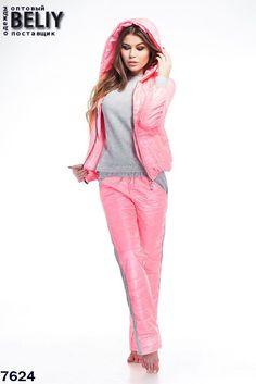 Теплый женский костюм тройка на синтепоне, вставки трикотаж. Размеры  44,  46, 48, 50. Материал  трикотаж, плащевка. Утеплитель  синтепон. 2f97f51faf7