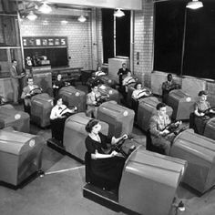 Long before my time but I had to pin this... Driving lessons: 1950. Funny!!