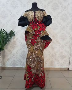 Ankara Skirt and Blouse Hot and Prettiest Ankara Skirt and Blouse & See 200 Stylish Designs for you to Rock Long African Dresses, African Lace Styles, Latest African Fashion Dresses, African Inspired Fashion, African Print Fashion, Ankara Fashion, Suit Fashion, Ankara Skirt And Blouse, Gowns