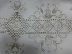 Rize Embroidery Designs, Hardanger Embroidery, Embroidery Dress, Drawn Thread, Herd, Bargello, Cutwork, Needful Things, Needlework
