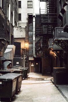 new york style fire escape alleyway Urban Photography, Street Photography, Jorge Ramirez, Christophe Jacrot, Bg Design, Fire Escape, Alleyway, Urban Life, Gotham City