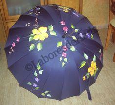 Labores de Hada: Paraguas pintados a mano