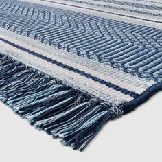 x Global Stripe Outdoor Rug Blue - Threshold , Adult Unisex, Size: Target Outdoor Rugs, Blue Outdoor Rug, Outdoor Blanket, Outdoor Decor, Updating Oak Cabinets, Galvanized Sheet, Living Room Redo, Patio Rugs, Patio Dining