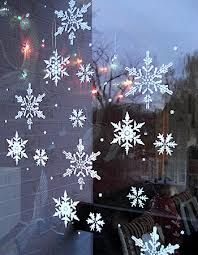 christmas stencil design frosted windows - Google Search