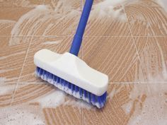 Tile Floor Care Do a Deep Cleaning Every Few M. is listed (or ranked) 3 on the list The Best Ways to Clean Tile Floors Household Cleaning Tips, House Cleaning Tips, Diy Cleaning Products, Cleaning Solutions, Deep Cleaning, Spring Cleaning, Cleaning Hacks, Cleaning Lists, Cleaning Schedules