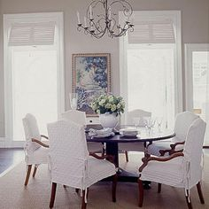 Laid-back Formality <br /> - Let There Be White - Coastal Living